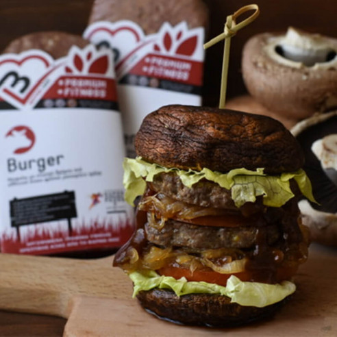 Beef Burger. Αργοψημένο Burger με...
