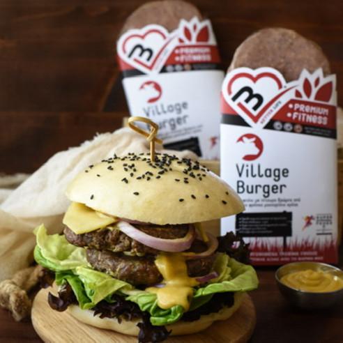 Village Burger. Αργοψημένο Μπιφτέκι...