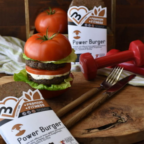 Power Burger. Αργοψημένο Μοσχαρίσιο...