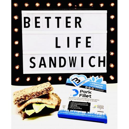 Πολύσπορο light sandwich  Better Life...